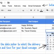 Gmail Scheduler